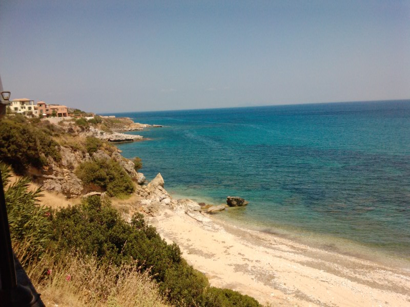 """Μερική θέα από το """"καράβι"""" της Πηνελόπης..."""
